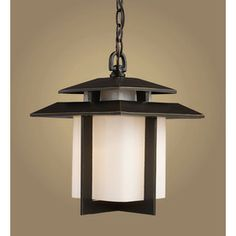 Westmore Lighting�13-in H Hazelnut Bronze Outdoor Pendant Light