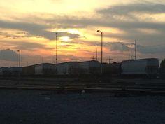 Trainyard by Melanie Starr
