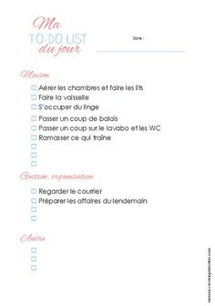 to do list jour