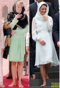 Diana e Kate Princess Katherine, Princess Diana Family, Princes Diana, Prince And Princess, Kate Middleton Family, Princess Kate Middleton, Kate Middleton Style, Duchess Kate, Duchess Of Cambridge