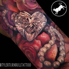 A little shiny action on a sleeve in progress. #roses #diamondtattoo #sleevetattoo #tattoo #tattoos #girlswithtattoos #art #tattooart #tattoolife #tattooartist #guyswithtattoos #tattoomodel #texasinkaholic #inkfreaks #inked #katytx #tattooedgirls #tattooedguys #inkaddict #love #houstontattooers #inkjunkeyz #tattoohero #tattoosnob #girlswithink #houstontattoos #tattooistartmagazine #texasinked #houstontattoo #the_inkmasters