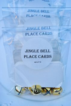 Jingle all the way to Christmas Dinner... Simple and Festive, just like Aunt Louise... Hark! are the bells, they come in sw...