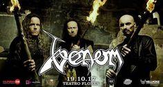 Venom en Argentina, jueves 19 de octubre en el Teatro Flores