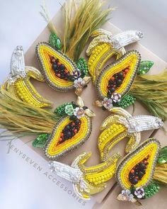 Beaded Brooch, Crochet Earrings, Beaded Embroidery, Beads, Jewelry, Fashion, Beading, Moda, Bead