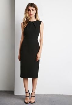 LBD Pair with fun colors and prints for work and with classic heels for more formal occasions.