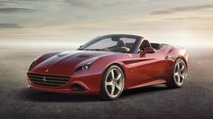 Welcome to the Ferrari California T. With a new twin-turbo 3.8-litre V8 with a very healthy 552bhp and 556lb ft of torque. That's a jump of 62bhp over the last version of the California, while torque is up by a whopping 50 per cent. Zero to 62mph is now handled in 3.6 seconds, which trims 0.2 seconds off the old car's time. You can thank the turbos for much of this.