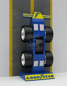 Good Year_Tyre Display Stand by Retail-Concept on DeviantArt
