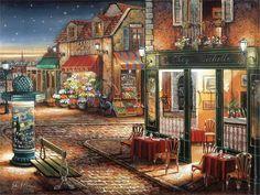 美国John P.Obrien风景油画作品