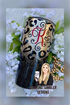 Tumbler Diy, Diy Tumblers, Tumbler Cups, Custom Tumblers, Glitter Tumblers, Personalized Tumblers, Glitter Cups, Black Glitter, Glitter Face