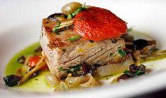 Mediterranean Tuna Steak