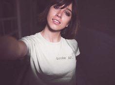 Broke AF Tshirt / Unisex T shirt / Funny T shirt / Graphic T shirt / Printed T shirt / Broke as F*ck / T shirt for Women / T shirt for Men