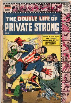 My copy of THE DOUBLE LIFE OF PRIVATE STRONG #2.
