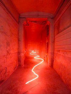 """theleoisallinthemind: """" Claude Lévêque, Montreuil, France – J'ai rêvé d'un autre monde, 2001 © La disparition des Lucioles, 2014 – Photo Vincent Laganier """""""