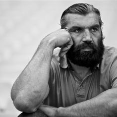Sebastien Chabal, French rugby legend and legendary beard