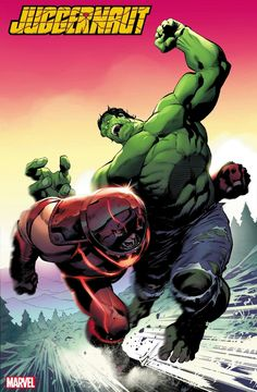 The upcoming miniseries of Juggernaut showcases Cain Marko in a no-holds-barred battle opposing the Immortal Hulk, just for keeping the fate of Krakoa safe. With the joining of X-Men's oldest foes into the nation-state of Krakoa Marvel Comics Art, Marvel Comic Universe, Hulk Marvel, Marvel Heroes, Spiderman, Marvel Comic Character, Marvel Characters, Character Art, Juggernaut Marvel