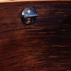 Freestanding bathtub handmade of wood Wood Bathtub, Freestanding Bathtub, Woodworking, Abstract, Artwork, Handmade, Bath Tub, Freestanding Tub, Woodwork