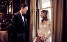 Kristen & Rick | ZATTUVISION Spring Weddings, One Shoulder Wedding Dress, Wedding Dresses, Image, Fashion, Bride Gowns, Wedding Gowns, Moda, La Mode
