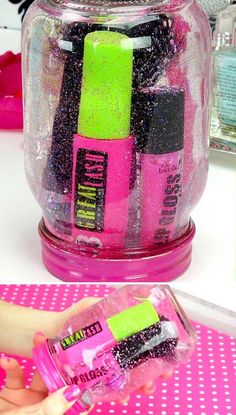Did you know it's super easy to make glitter globes? You can use almost anything you love inside.