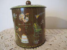 Daher Vintage Kitchen Tin Made in England by CJAndSistersVintage, $8.00