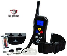 Lobo Commander Premium 350 Yard Wireless Dog Training CollarEasy Remote Has Shock Vibration  ToneBest E Collar for Obedience  Manual Bark Control FREE Pet Tag  LIFETIME MANUFACTURERS WARRANTY -- See this great product.Note:It is affiliate link to Amazon.