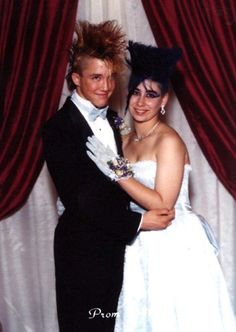 Bad prom photos that preserve awkward moments some teens would probably rather forget.