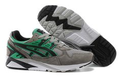 dc89f7c785d3 Asics Gel Saga II Running Shoes Grey Green Black  asics  running  shoes  Cheap