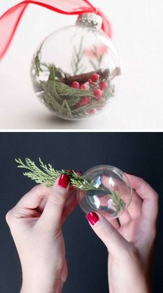 DIY Christmas decorations are fun projects to do with your family and friends. At the same time, DIY Christmas decorations … Ornament Crafts, Diy Christmas Ornaments, Homemade Christmas, Christmas Projects, Simple Christmas, Christmas Holidays, Christmas Crafts, Christmas Bulbs, Ornaments Ideas