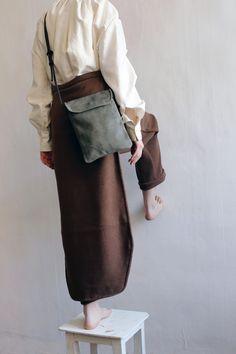Pants in wool FALL 2016 Masha Andrianova Bag Moobags Picture Olya Ivanova