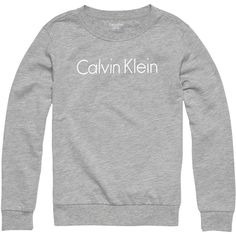 Calvin Klein Jersey Logo Lounge Sweatshirt ($51) ❤ liked on Polyvore featuring tops, hoodies, sweatshirts, crew-neck sweatshirts, patterned sweatshirt, long sleeve sweatshirts, jersey top and calvin klein sweatshirt
