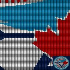 TORONTO BLUE JAYS - DD25 via Loopaghans Custom Crochet. Click on the image to see more!
