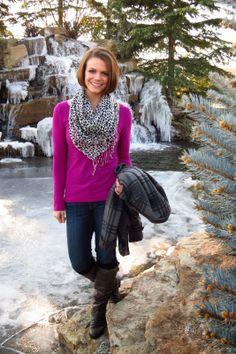 Walking in a Winter Wonderland via @Annelise Rowe // Aunie Sauce