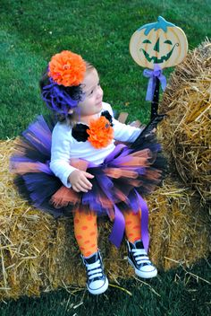 3pc Tutu Outfit, Cake Smash, Birthday Outfit, 1st Birthday, Baby Toddler Girls Halloween Outfit Costume Tutu, Witch Tutu Costume Outfit by AvaMadisonBoutique on Etsy