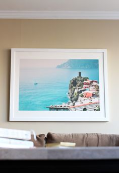 At Home with Minted | Art Print of Italian Coastline | Home Decor