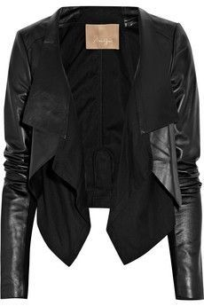 Celebrities who wear, use, or own Max Azria Cotton-Paneled Leather Jacket.  Also discover the movies, TV shows, and events associated with Max Azria ...