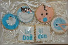Birth Cookies Fondant Cookies, Sweet Tooth, Sugar, Desserts, Food, Meal, Deserts, Essen, Hoods