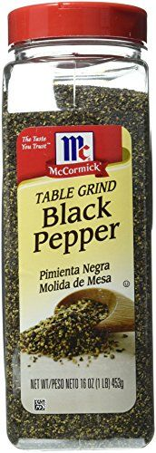 McCormick Pure Ground Black Pepper 16 oz >>> Learn more by visiting the image link.