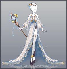 [Close] Design adopt 2 by MrMyrine on DeviantArt Clothing Sketches, Dress Sketches, Drawing Sketches, Dress Drawing, Drawing Clothes, Anime Outfits, Female Outfits, Character Outfits, Character Art