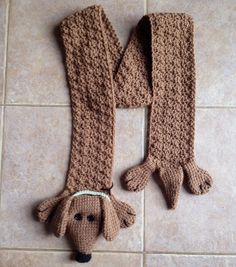 Free Crochet Pattern For Dog Bandana : Wiener Dog Scarf Pattern dachshunds Pinterest Dog ...