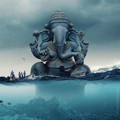 Ganesh chaturthi ki shubh-kamnaye – The Mommypedia Shri Ganesh Images, Ganesh Chaturthi Images, Lord Ganesha Paintings, Ganesha Art, Ganesh Lord, Jai Ganesh, Shree Ganesh, Aghori Shiva, Life Tips