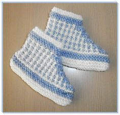 Ravelry: Gurigurimalla's Bosnia baby-slippers