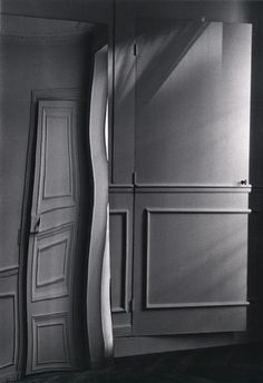 Door Distortion, Paris, by André Kértész