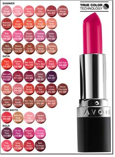 What is your favorite shade? Mine is Scarlet Siren $7.99 in store #avonatthemall www.youravon.com/mking7641