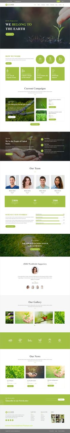 Greeneerio is clean and modern design 2in1 responsive #WordPresthemes for #ecology and #environmental agency website to download & live preview click on image or Visit #webdesign