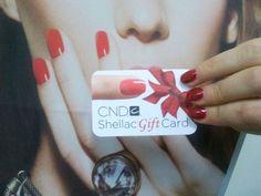 Idea regalo: CND Shellac manicure con CND Shellac Gift Card!