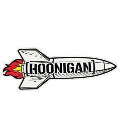 Hoonigan Rocket Sticker