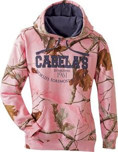 pink camo hoodie! Trish & Jen......Aren't these the CUTEST?! We NEED these for camping.