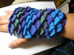 I worked pretty hard to figure out how to make these gloves. Please do not claim…