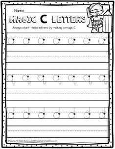 FREE Handwriting Practice — Keeping My Kiddo Busy - rosalie Handwriting Practice Free, Name Writing Practice, Kindergarten Handwriting, Handwriting Without Tears, Handwriting Activities, Improve Handwriting, Handwriting Worksheets, Kindergarten Writing, Kids Writing