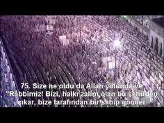 Nisa (KADINLAR) Suresi Kabe İmamı Sudais Türkçe Altyazılı Mealli - YouTube