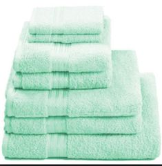 Mint Green Bath Towels Captivating 900 Gram 6Piece Egyptian Cotton Towel Set  House Things Review